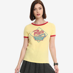 Tops - Riverdale Tee Pop's Chock'lit Shoppe Size L NWT